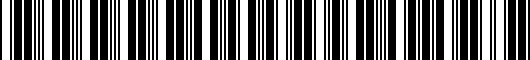 Barcode for 000065110DSP